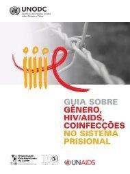guia sobre gênero, hiv/aids, coinfecções no sistema prisional