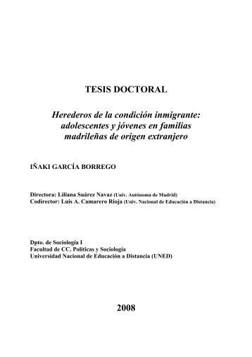 Herederos de la condición inmigrante ... - e-Spacio - UNED