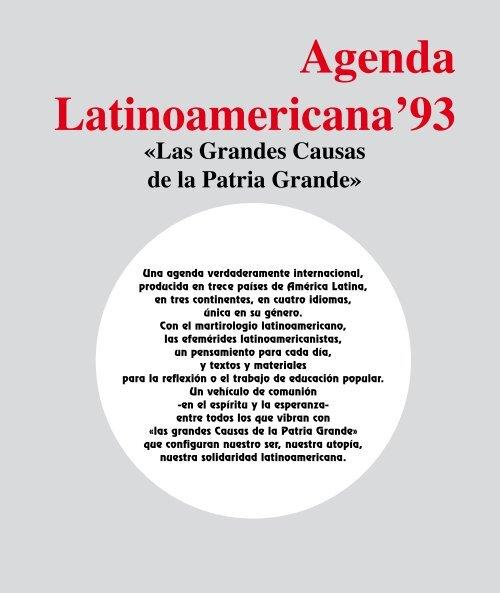Agenda Latinoamericana 1993 Agenda Latinoamericana Mundial
