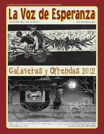Calaveras y Ofrendas 2012 Calaveras y Ofrendas 2012 - Esperanza
