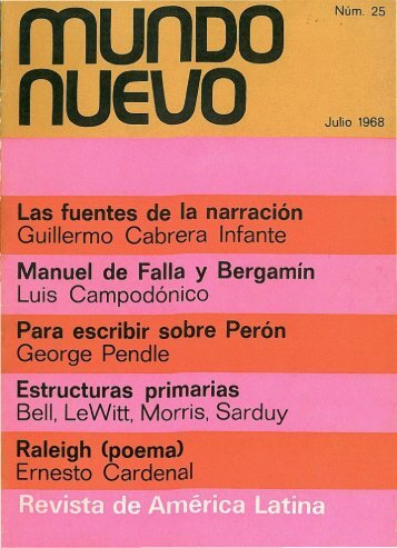jul. 1968 - Publicaciones Periódicas del Uruguay