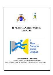 II Plan Canario sobre Drogas 2003-2008 - Gobierno de Canarias