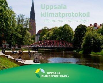 Folder om klimatprotokollet - Uppsala kommun