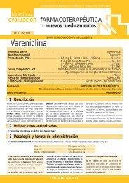 Vareniclina - Sergas