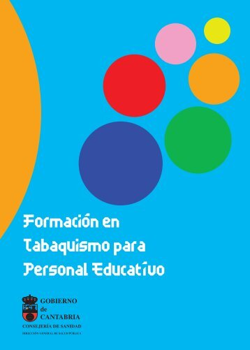 Manual de Formación en Tabaquismo para personal educativo