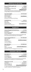 FÖRETAGSKATALOGEN - Företagarna i Vattholma kommundel - Page 4