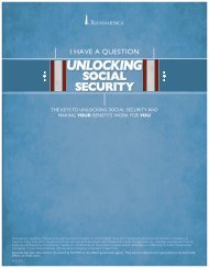 unlocking social security - Transamerica