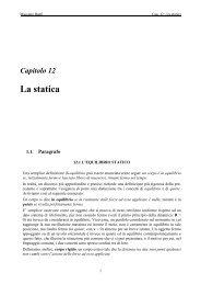 Cap. 12 - La statica - Massimo Banfi