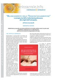 scarica articolo in pdf - Craniosacrale