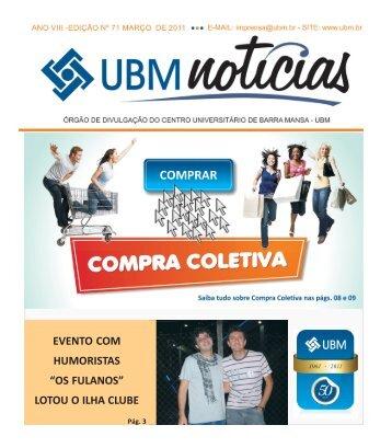 jornal MARÇO 2011.p65 - UBM