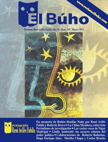 En memoria de Rubén Bonifaz Nuño por René ... - Revista EL BUHO