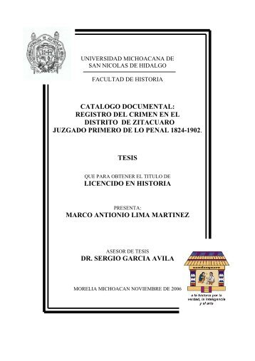 catalogo documental registro del crimen en el ... - Biblioteca Virtual