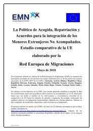 Red Europea de Migraciones - Secretaría General de Inmigración y ...