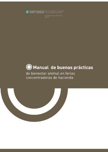 Manual de buenas prácticas de bienestar animal en ferias ... - Senasa