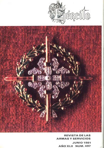 Nº 497 1981 Junio - Portal de Cultura de Defensa - Ministerio de ...
