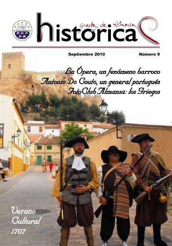 Verano Cultural 1707 - Batalla de Almansa