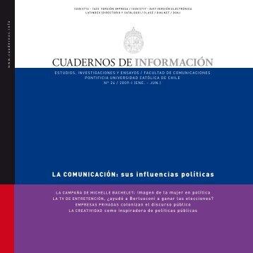 Cuaderno de Información Nº24, 2009-I - Facultad de ...