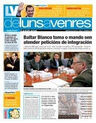 Baltar Blanco toma o mando sen atender peticións de ... - Galiciaé