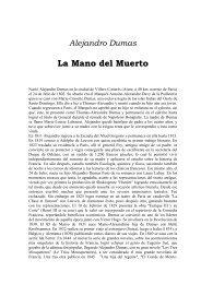 Alejandro Dumas La Mano del Muerto - AMPA Severí Torres