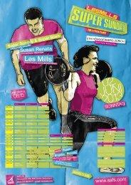 Les Mills Super Sunday 2013 - SAFS