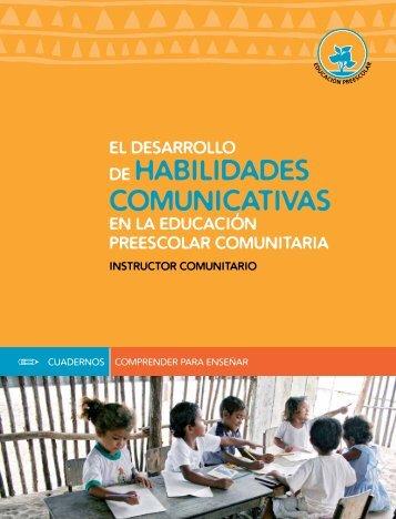 el desarrollo de habilidades comunicativas en la ... - Contenido Vivo