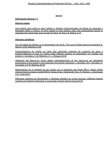 Descargar Revista - Instituto de Investigaciones Porcinas (IIP)