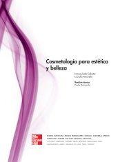 Cosmetología para estética y belleza - McGraw-Hill