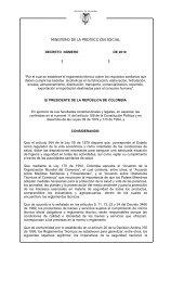 proyecto decreto bebidas alcohólicas - Ministerio de Salud y ...