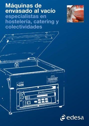 Cátalogo completo de la gama en PDF - EDESA Hostelera