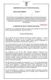 Proyecto de Reglamento Técnico y Medida Sanitaria sobre ...
