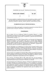 Proyecto de Reglamento Técnico y Medida Sanitaria de ... - Fenalco
