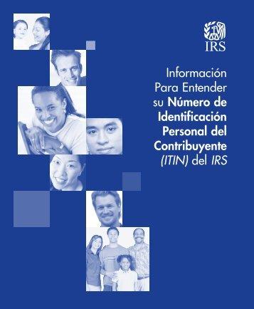 Publication 1915 (SP) (Rev. 2-2012) - Internal Revenue Service