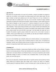 EL ESPIRITU SANTO - II - Centro Cristiano Zuriel