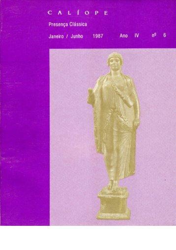 calíope 6 - Faculdade de Letras - UFRJ