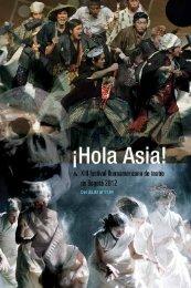 hola asia! 2012 - Asia-Iberoamerica Cultural Foundation