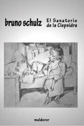El Sanatorio de la Clepsidra - Maldoror Ediciones