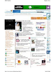 Deslumbra el día de tu boda Página 1 de 2 MSN España 06/05 ...