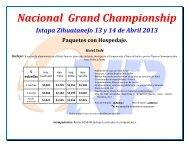 Nacional Grand Championship - ONP