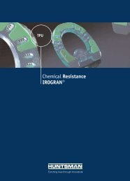 Chemical Resistance IROGRAN®