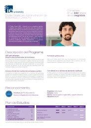 Doble Grado - Folleto (PDF, 0.06 MB) - IE