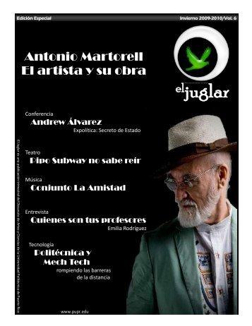 El Juglar - Edición Especial WI 2009-2010 - Universidad Politécnica