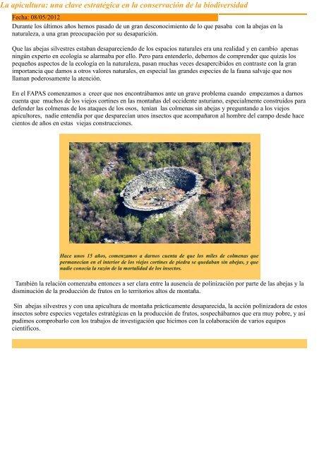 """""""La Polinización - Las abejas - El arándano"""", """"La apicultura: una ..."""