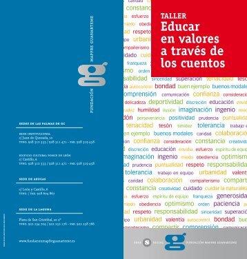 Educar en valores a través de los cuentos - Fundación Mapfre ...