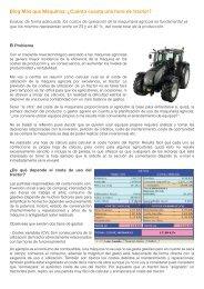 Cuánto cuesta una hora de tractor? - RoundUp
