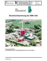 Brandschutzordnung - Abfallentsorgungsgesellschaft des ...