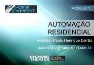 Conceito de automação residencial - Home Expert