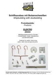 Produktkatalog Elektroinstallation - Schelle GmbH