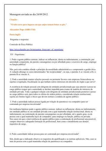 Mensagem enviada no dia 24/09/2012 - Funag