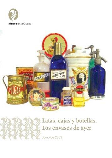 Latas, cajas y botellas. Los envases de ayer - Museos de Buenos ...