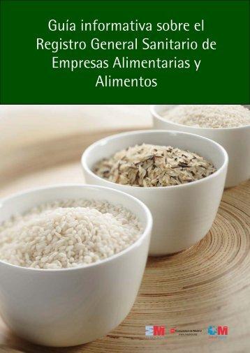 Guía Registro General Sanitario de Empresas Alimentarias y